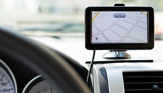 GPS Navigation device in Crete by Rental Center Crete