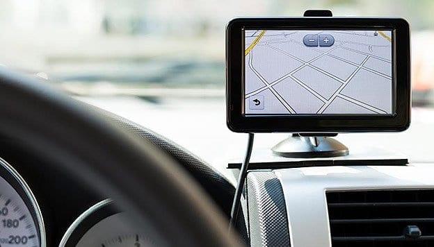 Kreta z nawigacją GPS