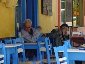 local tavern in crete