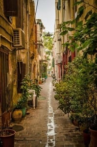 Alley in Chania Old Town