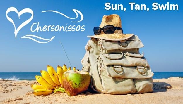 Sun, Tan, Swim in Hersonissos