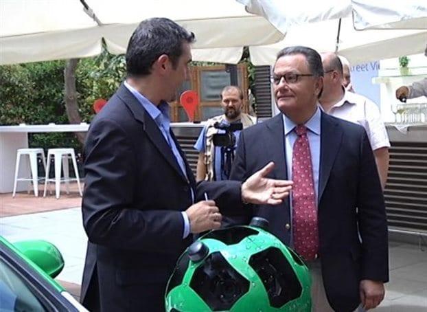 Mr Panagiotopoulos in Google Event