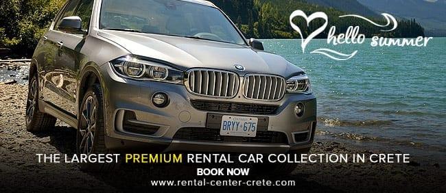 Premium rental cars in Kokkini Hani Crete