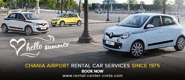 Landing in CHQ? Book a rental car in Chania Airport now!