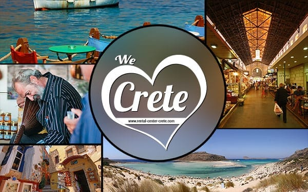 Random pics wallpaper of Cretan Places like Loutro, balos and market square in Chania