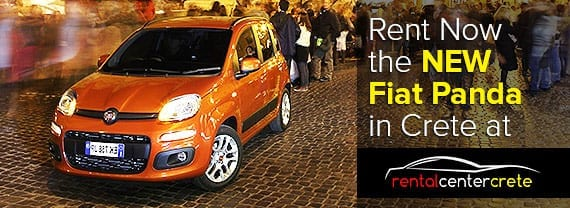 Hire the New Fiat Panda in Crete now