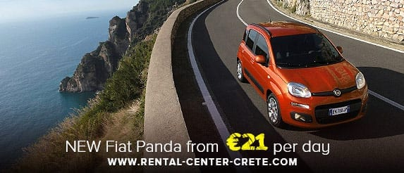 New Fiat Panda Offer in Crete