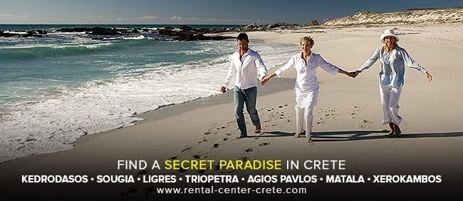 Find a secrete paradise in Crete Island