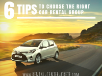 6 Tips to Choose the Right Car Rental Group