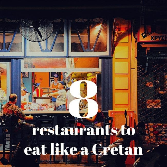 8 restaurants with Authentic Cretan Cuisine
