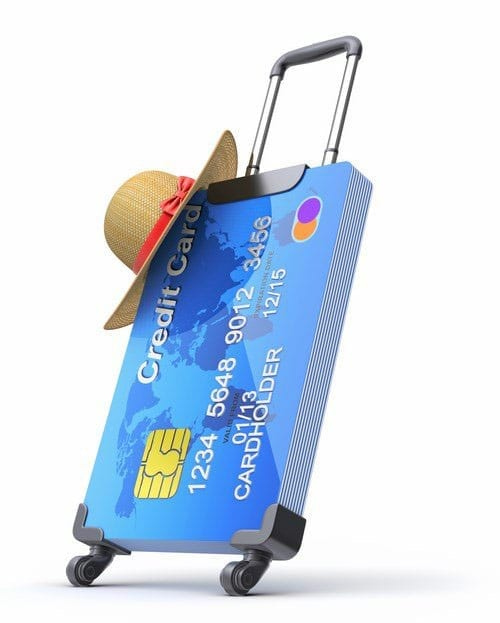 Do you use your credit card while on vacation?