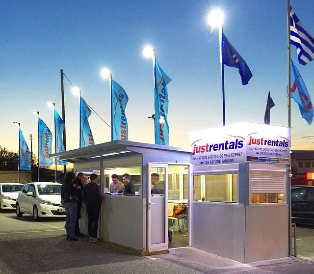 Rental Center Crete: A local car rental company in Heraklion Airport