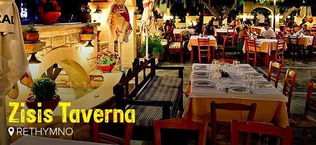 Zisis Taverna Rethymno