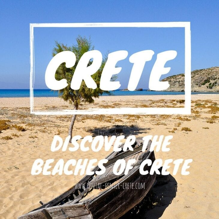 Discover the beaches of Crete