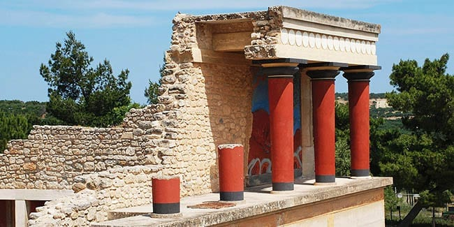 Knossos Palace in Heraklion