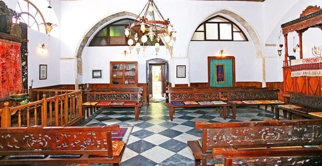 Etz Hayyim Synagoge in Chania.