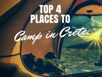 Top 4 Places to Camp in Crete