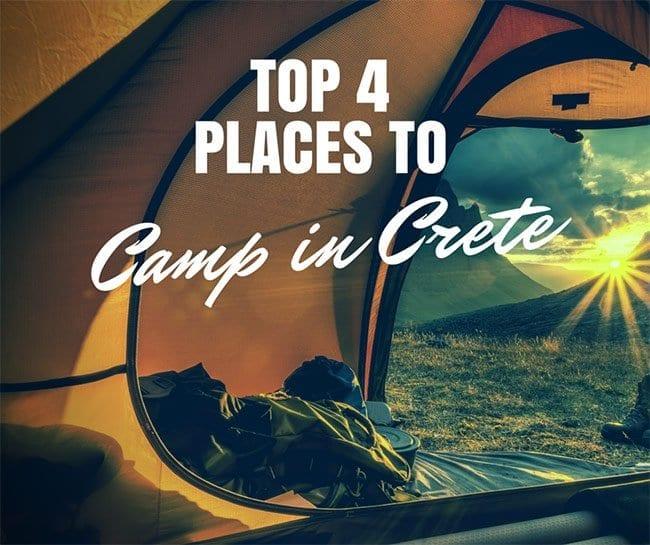 Camping in Crete