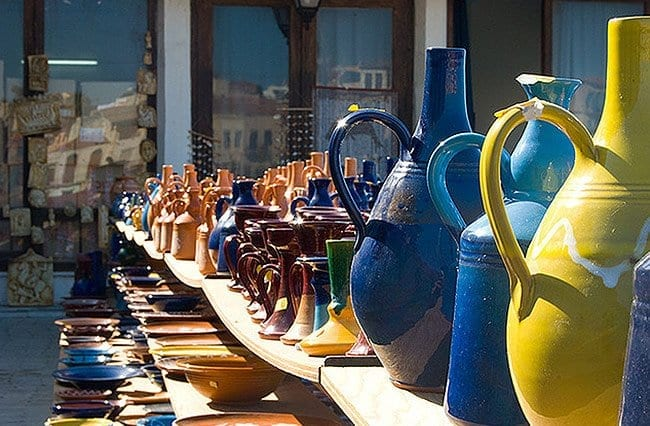 Buying Ceramics and Pottery on Cretan Villages