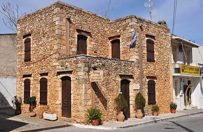 House of El. Venizelos in Mournies Chania