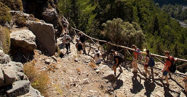 Hiking in Samaria Gorge