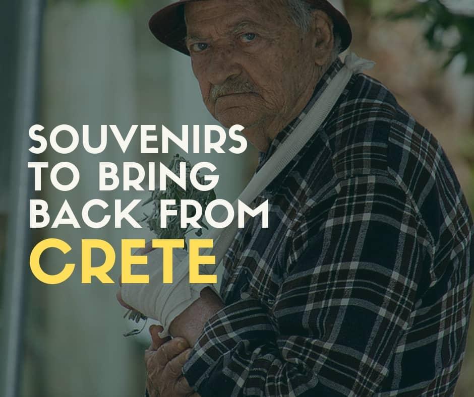 Souvenirs Crete