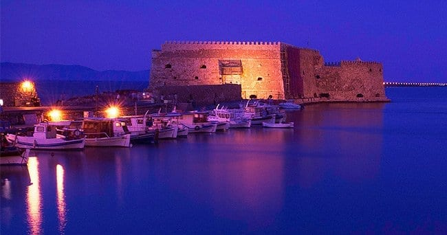 Koules Fortress in Top Sights in Heraklion