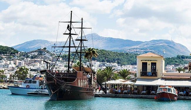 Rethymno Port Crete