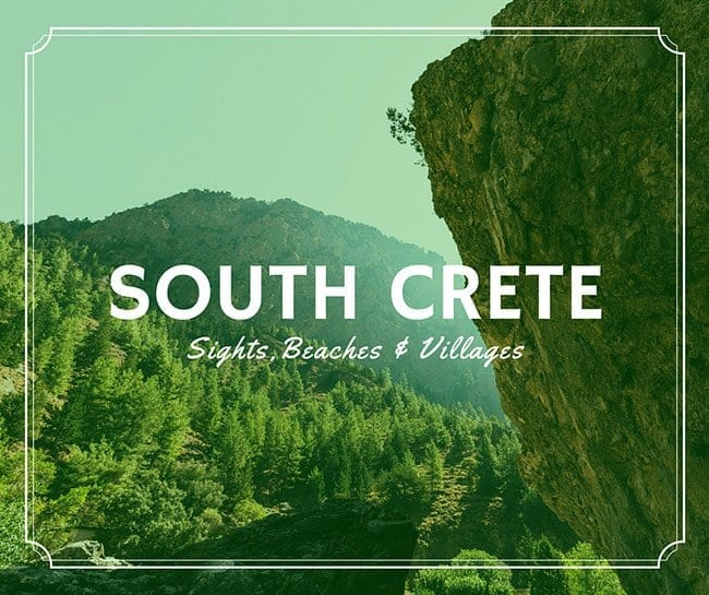 South Crete - Sights, Beaches, Villages