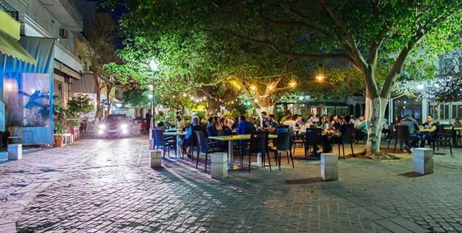 Splantzia Square in Chania Center