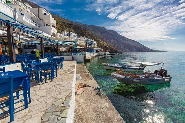 The Taverns in Loutro