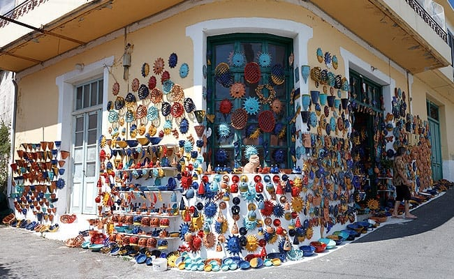 One of many Ceramics Shop in Margarites