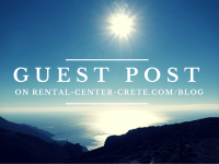 Guest Post to Rental Center Crete Blog