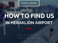 [Guide] How to Find our Car Rental Spot at Heraklion Airport