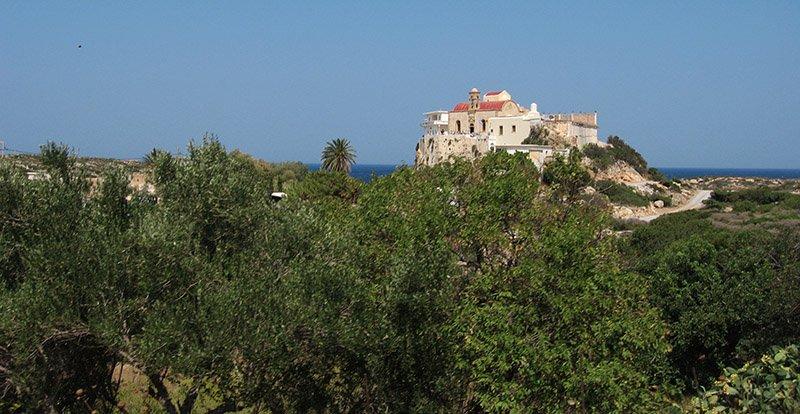 Монастырь Хрисоскалитисса