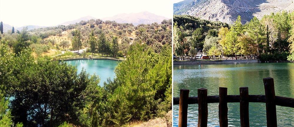 Zaros Lake & Forest