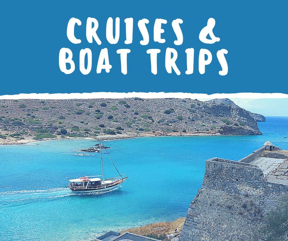 Boat Trips in Crete Island
