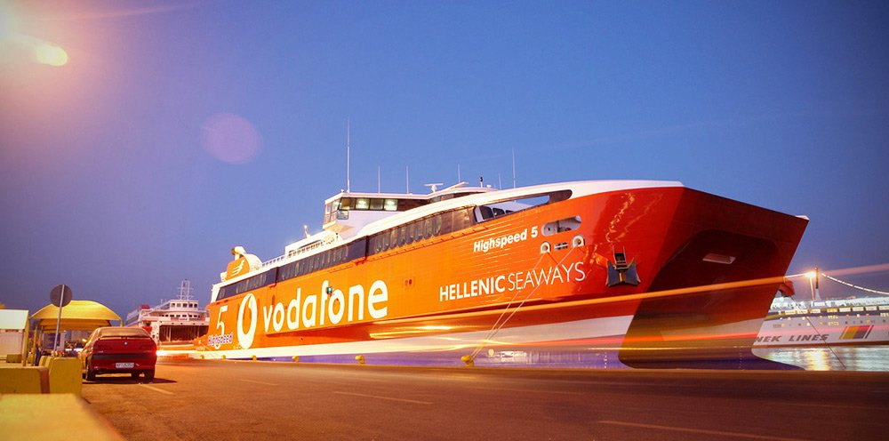 Heraklion to Santorini with Hellenic Seaways