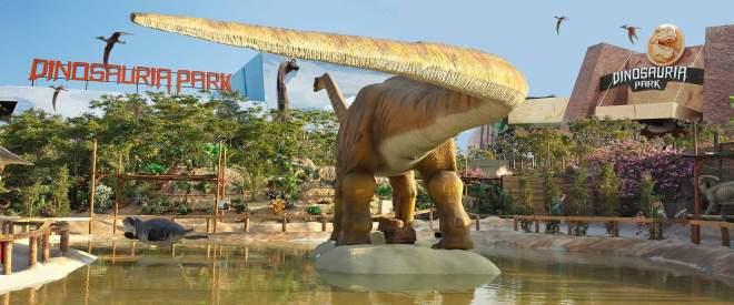 Dinosauria park crete