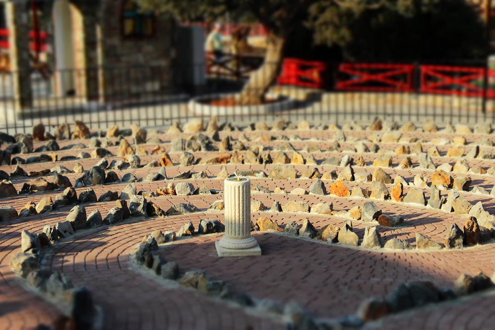 cretan labyrinth park