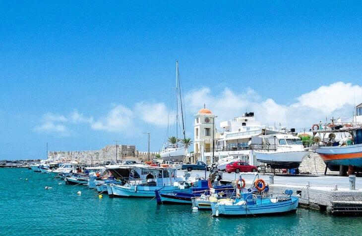 harbour in ierapetra