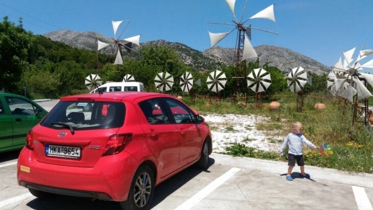 Toyota Yaris by Rental Center Crete