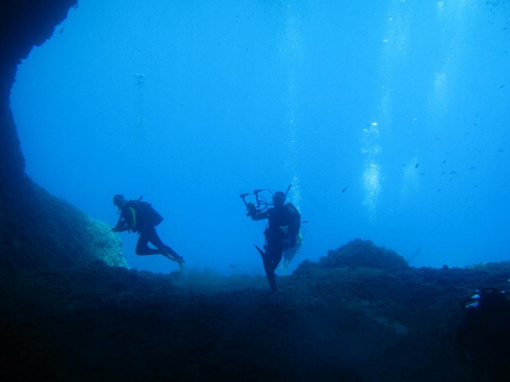 Diving in Crete