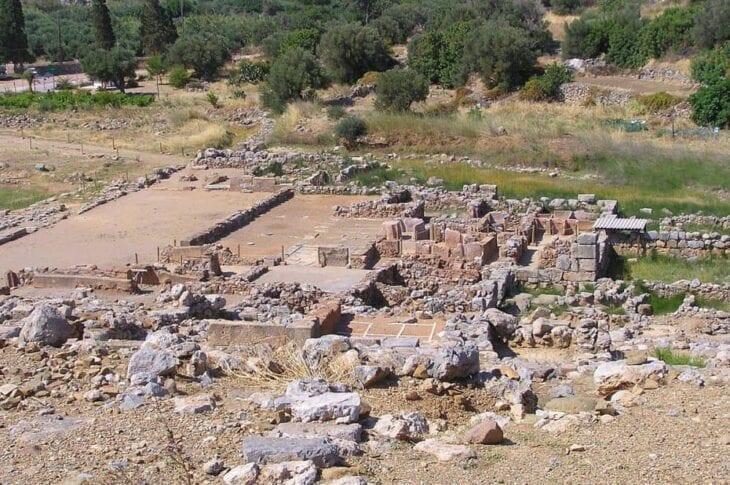 Ruines du palais de Zakros
