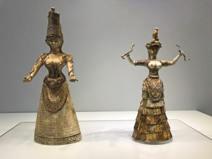 Minoan Statues