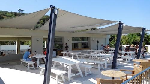 Open Area bar