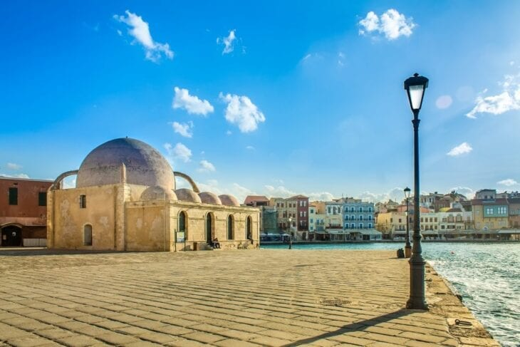 where to park in chania