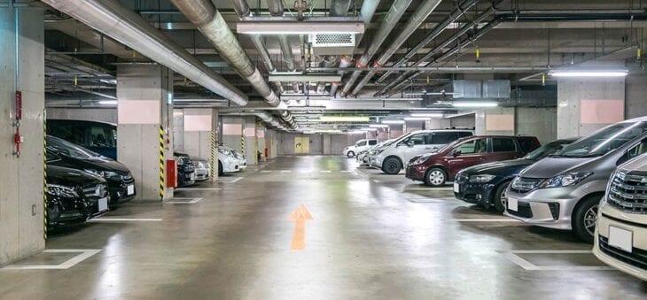 Zones de stationnement à Heraklion