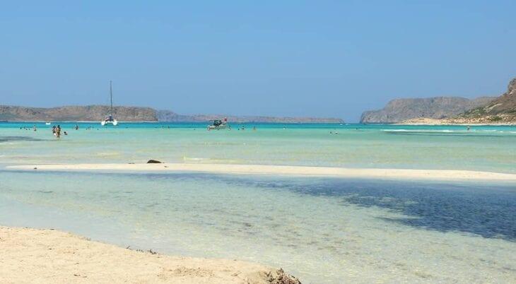 Plaża na wyspie Chrissi