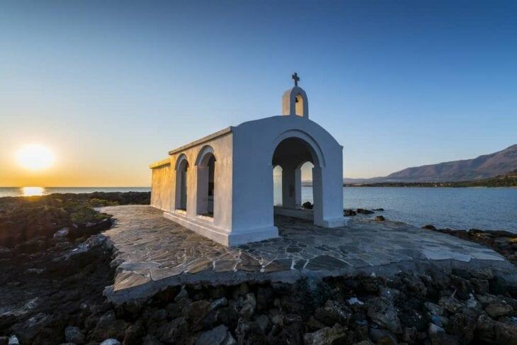 Agios nikolaos chapel in Georgioupolis